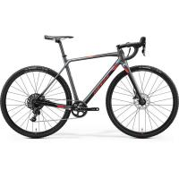 Велосипед Merida Mission CX5000 SilkSilver/Black/Red 2020 M(53cm)(18639)