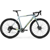 Велосипед Merida Mission CX Force-Edition GlossySparklingBlue/Black/Lime 2020 S(50cm)(31087)